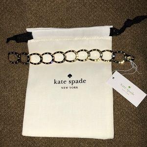 Kate Spade Wild Horseshoe Link Bracelet NWT